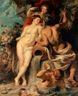 The Union of Earth and Water painting reproduction, Peter Paul Rubens