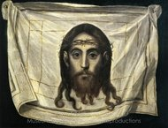 The Veil of Saint Veronica painting reproduction, El Greco