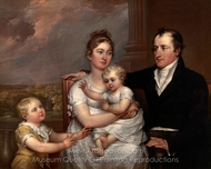 The Vernet�Family painting reproduction, John Trumbull