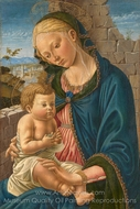 The Virgin and Child painting reproduction, Italian Painter