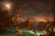 The Voyage of Life: Manhood painting reproduction, Thomas Cole