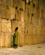 The Wailing Wall painting reproduction, Jean-Leon Gerome