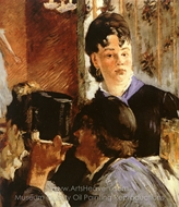 The Waitress (The Beer Serving Girl) painting reproduction, Édouard Manet