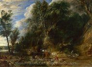 The Watering Place painting reproduction, Peter Paul Rubens
