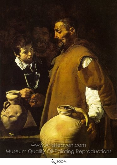 Diego Velazquez, The Waterseller of Seville oil painting reproduction