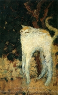 The White Cat painting reproduction, Pierre Bonnard