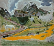 The White Horse in Spring painting reproduction, Nikolai Astrup