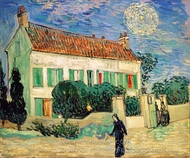 The White House at Night painting reproduction, Vincent Van Gogh