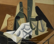 The White Tablecloth painting reproduction, Juan Gris