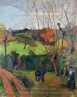 The Willow Tree painting reproduction, Paul Gauguin