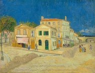 The Yellow House painting reproduction, Vincent Van Gogh