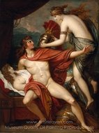 Thetis Bringing the Armor to Achilles painting reproduction, Benjamin West