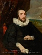 Thomas Howard, 2nd Earl of Arundel painting reproduction, Sir Anthony Van Dyck
