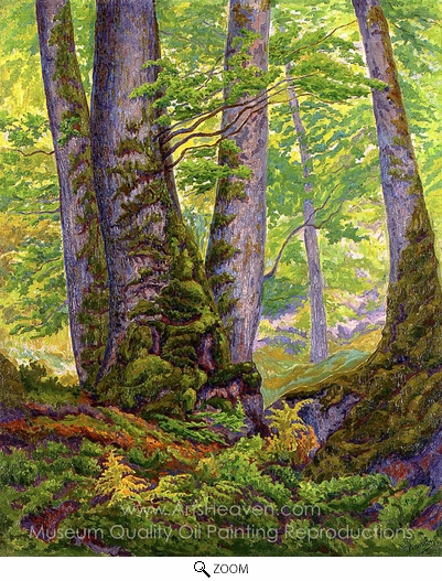 Paul Ranson, Three Beeches oil painting reproduction