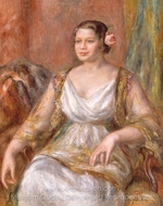 Tilla Durieux painting reproduction, Pierre-Auguste Renoir