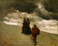 To the Rescue painting reproduction, Winslow Homer