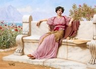Tranquility painting reproduction, John William Godward