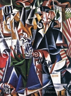 Traveling Woman painting reproduction, Liubov Popova