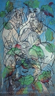 Trice painting reproduction, Francis Picabia