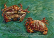 Two Crabs painting reproduction, Vincent Van Gogh