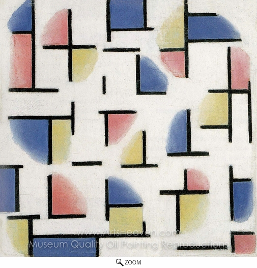Theo Van Doesburg, Variation on Composition XIII oil painting reproduction