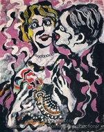 Veglione Cannes painting reproduction, Francis Picabia