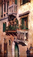 Venice painting reproduction, William Merritt Chase