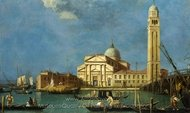 Venice - S. Pietro in Castello painting reproduction, Canaletto