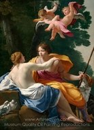 Venus and Adonis painting reproduction, Simon Vouet