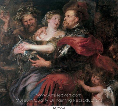 Peter Paul Rubens, Venus and Mars oil painting reproduction