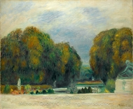 Versailles painting reproduction, Pierre-Auguste Renoir