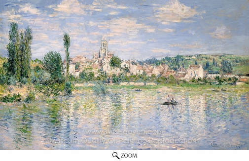 Claude Monet, Vetheuil in Summer oil painting reproduction
