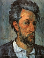 Victor Chocquet painting reproduction, Paul Cézanne