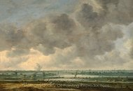 View of Haarlem and the Haarlemmer Meer painting reproduction, Jan Van Goyen