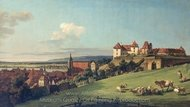 View of Pirna From the Sonnenstein Castle painting reproduction, Bernado Bellotto