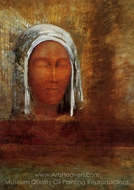 Virgin of the Dawn painting reproduction, Odilon Redon
