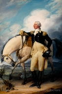 Washington at Verplanck's Point painting reproduction, John Trumbull