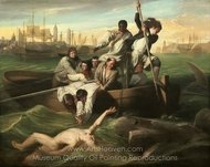 Watson and the Shark painting reproduction, John Singleton Copley