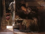 Welcome Footsteps painting reproduction, Sir Lawrence Alma-Tadema