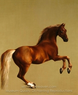 Whistlejacket painting reproduction, George Stubbs
