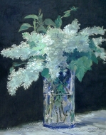 White Lilac painting reproduction, �douard Manet