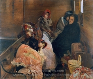 White Slave Trade painting reproduction, Joaquin Sorolla