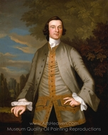 William Axtell painting reproduction, John Wollaston