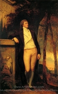 William Beckford painting reproduction, George Romney