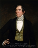 William C. Preston painting reproduction, George P. A. Healy