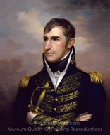 William Henry Harrison painting reproduction, Rembrandt Peale