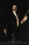 William M. Chase, N. A. painting reproduction, John Singer Sargent