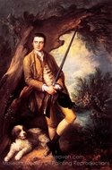 William Poyntz painting reproduction, Thomas Gainsborough