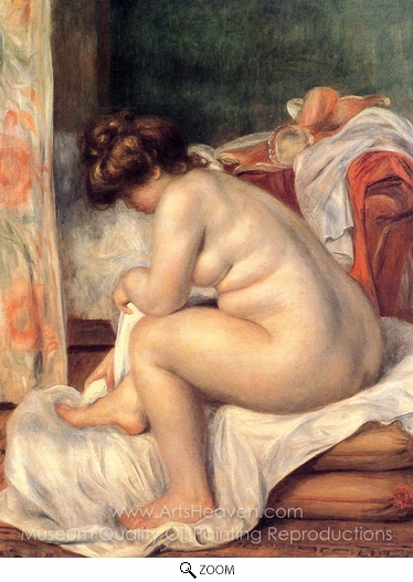 Pierre-Auguste Renoir, Woman after Bathing oil painting reproduction