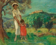 Woman and Child painting reproduction, Georges d'Espagnat